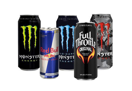 Restart the workday with an energy drink from your vending machine in Los Angeles and Orange County.