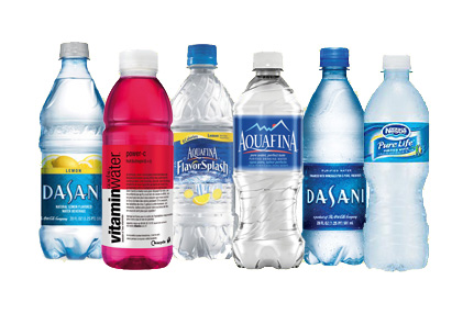 Choose from plain water, flavored water, or sparking water in Los Angeles and Orange County