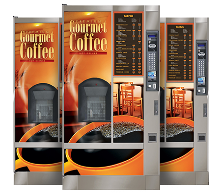 Hot beverage vending machines in Los Angeles and Orange County